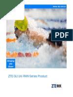 ZTE GU Uni-RAN Series Product Leaflet