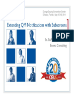 2811 Extending Quality Notification Functionality Through Subscreens and the Action Box