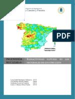 Radiactividad Natural en los Materiales de Construcción