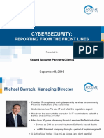Cybersecurity - Reporting From the Front Lines