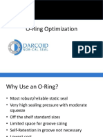 O Ring Optimization