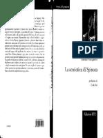 Lorenzo Vinciguerra - La Semiotica Di Spinoza