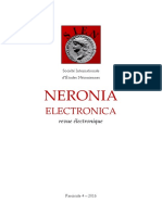 Neronia Electronica Fascicule 4