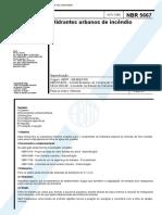 NBR 05667 - 1980 - Hidrantes Urbanos de Incêndio.pdf