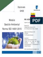 MEMORIAS MODULO GESTION AMBIENTAL +ISO 14001+  UNICAFAM JUNIO  DE 2016