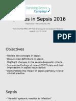 Sepsis Updates
