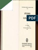 Prasad 1977 Studies in Gunadhya