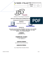 Estructura de Anteproyecto Tecnm d Ac Po 012 08