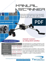 Manual XY Scanner