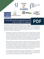Carta Abierta de las organizaciones de la sociedad civil venezolana a los Países No Alineados