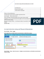 Account Structure and Financial Dimensions in AX 2012