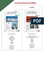 Indice Plazola PDF Todos Los Volumenes