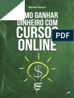 Como Ganhar Dinheiro com Cursos Online Brunoavila