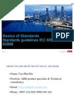 Standard Guidelines 60947 vs 60898 2015