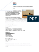Programa Del Curso Mat Pilates Omphis