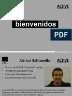 Introduccion Al Entrenamiento Funcional