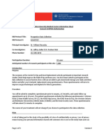 Prospective Database Information Sheet With Logos