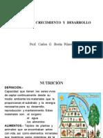 NUTRICIÓN,CRECIMIENTO Y DESARROLLO