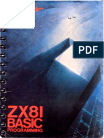 ZX 81 Basic Programming
