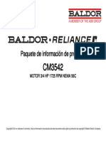 Motor Baldor CM3542