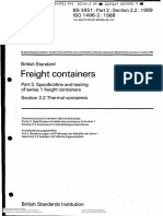 Freight containers Part 2. Specification and testing of series I freight containers Section 2.2 Thermal containers- BS 3951-Part 2-Section 2.2-1989.pdf