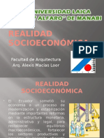 Realidad Socioeconómica