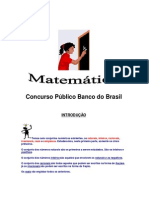 Matemática - Apostila Concurso Matemática II
