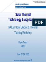 Course Solar Taylor Thermal