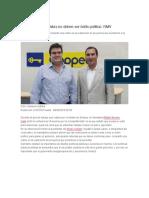 08.09.2016 joseacontreras.net - Coaliciones partidistas no deben ser botín político- RMV