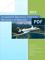 Assignment strength of materials