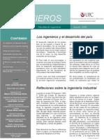 Revista Ingenieros UPC - Agosto 2006