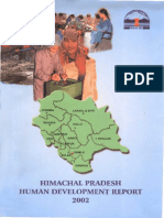 Human Develop Report Himachal Pradesh 2002 Full Report