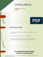 Farmacovigilancia Reacciones Adversas de Fluoroquinolonas