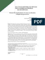 Subsídios Para o Uso Da Historia Das Ciencia No Ensino- Clarete Silva