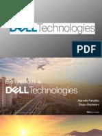 Presentacion fusion entre Dell y EMC