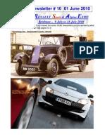 RSAE 10 Newsletter#10