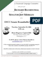 DSCC Senate Roundtable Breakfast
