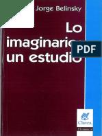 160909 Belinsky Lo Imaginario Un Estudio
