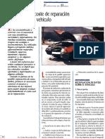 Evaluación Del Coste de Reparación de Vehículos