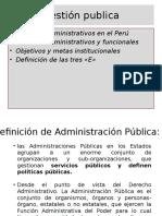 Gestión Publica PERU