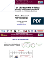 2 Metrologia en Ultrasonido Medico (Dr Alfredo Elias Juarez-CENAM) FISICA DEL ULTRASONIDO