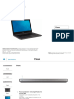 Inspiron 14 5458 Laptop Reference Guide en Us