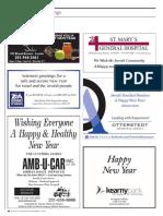 2015 Jewish Standard Rosh Hashanah Ads