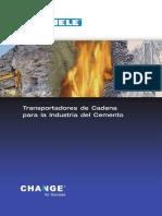Thiele Transportadores de Cadena Para La Industria Del Cemento