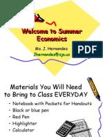 Economics 1 1