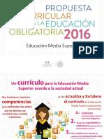Propuesta Curricular. Educación Media Superior