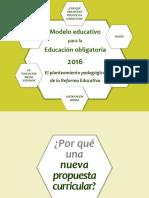 Nuevo Modelo Educativo Para La Educación Obligatoriapdf