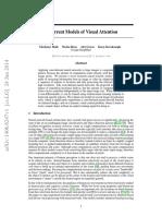Recurrent Models of Visual Attention - Mnih Et Al (2014, Jun)