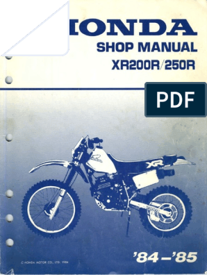 84 xr200r wiring diagram xr250 manual motor oil carburetor  xr250 manual motor oil carburetor