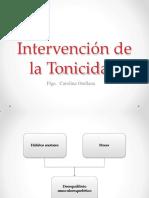 Intervención de La Tonicidad